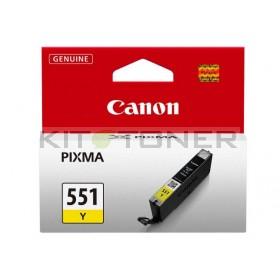 Canon CLI551Y - Cartouche d'encre jaune de marque 6511B001