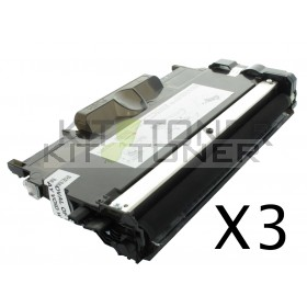 Brother TN2010 - Pack de 3 cartouches de toner compatibles