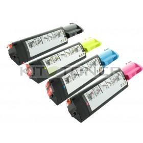 Epson S050190, S050188, S050187, S050189 - Pack de 4 toners compatibles 4 couleurs