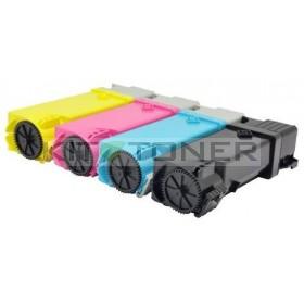 Dell 59311041, 59311037, 59311033, 59311040 - Pack de 4 toners compatibles (Noir, Cyan, Magenta, Jaune)