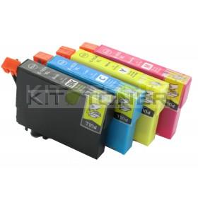 Epson C13T16354010 - Pack de 4 cartouches d'encre compatibles