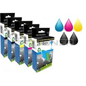 Canon PGI520BK, CLI521BK, CLI521C, CLI521Y, CLI521M - Pack de 5 cartouches d'encre compatibles