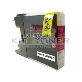 Brother LC1280XLM - Cartouche d'encre magenta compatible