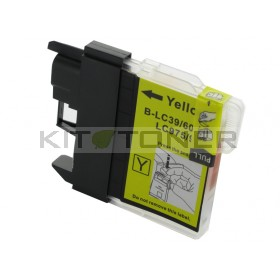 Brother LC985Y - Cartouche d'encre compatible jaune