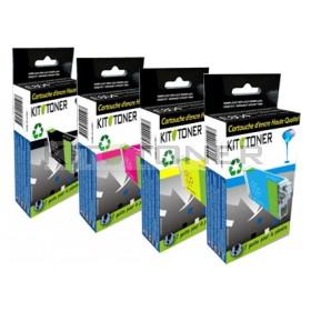 HP C2P23AE, C2P24AE, C2P25AE, C2P26AE - Pack de 4 cartouches d'encre compatibles 935XL
