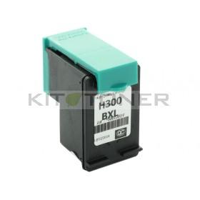 HP CC641EE - Cartouche d'encre compatible noire 300 XL