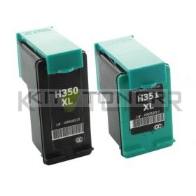 HP SD412EE - Pack de 2 cartouches encre compatibles