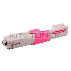 Oki 44469705 - Cartouche de toner compatible magenta