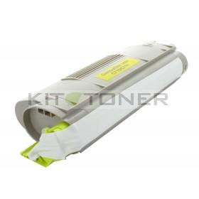 Oki 44318605 - Cartouche de toner compatible jaune
