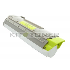 Oki 44315305 - Cartouche de toner jaune compatible