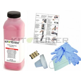 Dell 59311128  - Kit de recharge toner compatible magenta 4J0X7