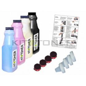 Epson S050268 - Kit de recharge toner compatible 4 couleurs