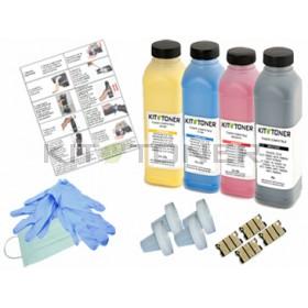 Konica A0DK152, A0DK352, A0DK252, A0DK452 - Kit de recharge toner compatible 4 couleurs
