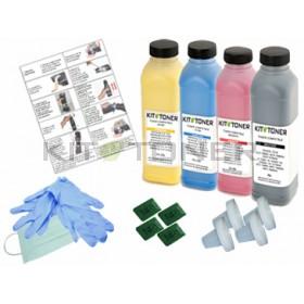Oki 44250723, 44250721, 44250722, 44250724 - Kit de recharge toner compatible 4 couleurs