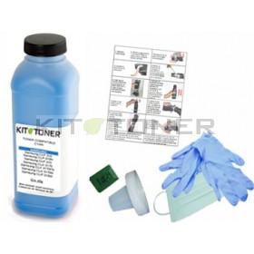 Oki 43381907 - Kit de recharge toner compatible Cyan