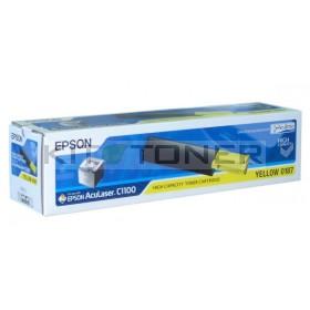 Epson S050187 - Toner d'origine jaune