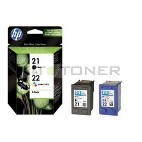 HP SD367AE - Pack 2 cartouches encre HP 21 + 22