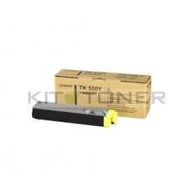 Kyocera TK520Y - Cartouche de toner jaune original