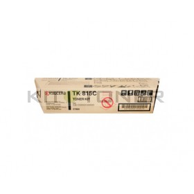 Kyocera TK815C - Cartouche de toner cyan original