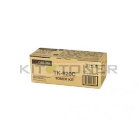 Kyocera TK820C - Cartouche de toner cyan original