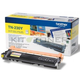 Brother TN230Y - Cartouche de toner d'origine jaune