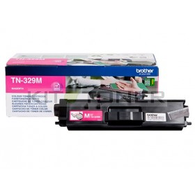 Brother TN329M - Cartouche de toner magenta TN329M