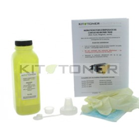 Brother TN230Y - Kit de recharge toner compatible Jaune