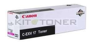 Canon 0260B002 - Cartouche toner d'origine magenta CEXV17