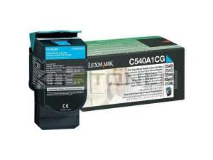 Lexmark 0C540A1CG - Cartouche toner cyan d'origine