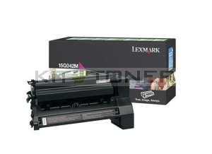 Lexmark 15G042M - Cartouche de toner magenta de marque