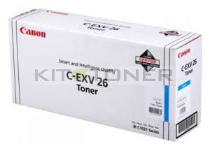 Canon 1659B006 - Cartouche toner d'origine cyan CEXV26
