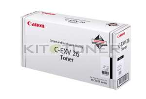 Canon 1660B006 - Cartouche toner d'origine noir CEXV26
