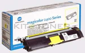 Konica 1710589005 - Toner d'origine jaune