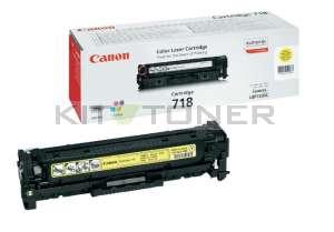 Canon 2659B002 - Cartouche toner d'origine jaune 718