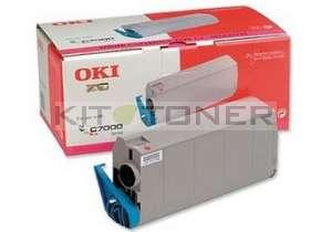 Oki 41963006 - Cartouche de toner magenta d'origine