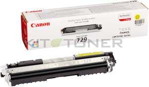 Canon 4367B002 - Cartouche de toner jaune d'origine 729