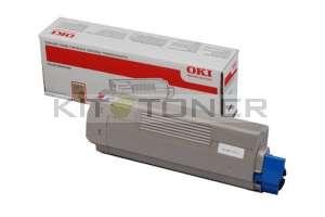 Oki 44059166 - Cartouche de toner magenta d'origine