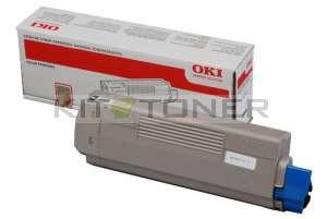 Oki 44315308 - Cartouche de toner noire d'origine