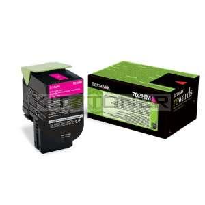 Lexmark 70C2HM0 - Cartouche de toner magenta de marque