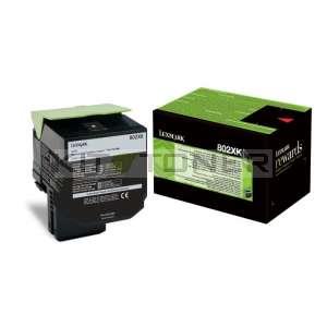 Lexmark 80C2XK0 - Toner noir d'origine