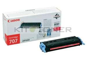 Canon 9422A004 - Cartouche toner d'origine magenta 707