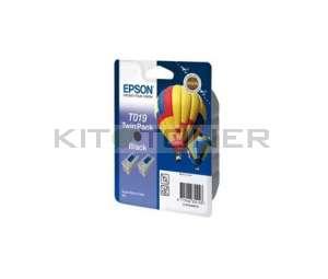 Epson C13T019401 - Cartouche d'encre noire de marque T019401