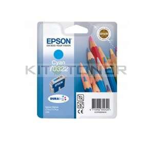 Epson C13T032240 - Cartouche d'encre cyan de marque T032240