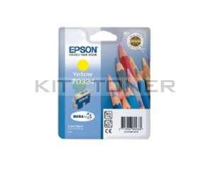 Epson C13T032440 - Cartouche d'encre jaune de marque T032440