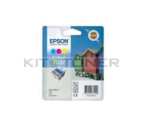 Epson C13T037040 - Cartouche d'encre couleur de marque T037040