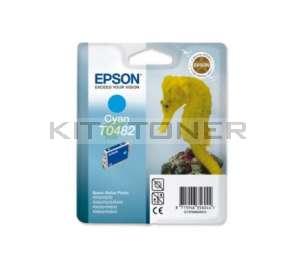 Epson C13T048240 - Cartouche d'encre cyan de marque T0482