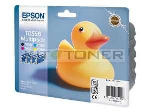Epson C13T05564010 - Pack de 4 cartouches d'encre Epson T0556