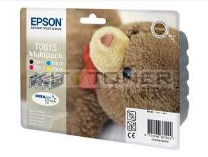 Epson C13T06154010 - Pack 4 cartouches d'encre Epson T0615