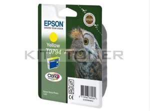 Epson C13T07944010 - Cartouche d'encre Epson Claria jaune T0794