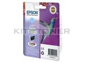 Epson C13T08054011 - Cartouche d'encre Epson Claria cyan clair T0805